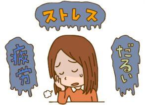 ストレスでからだの代謝が悪くなる