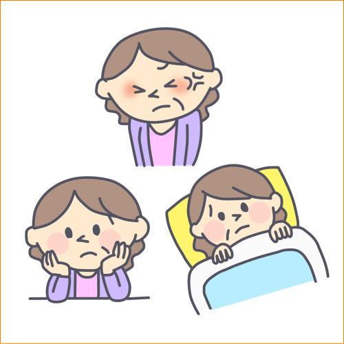 睡眠不足や疲労