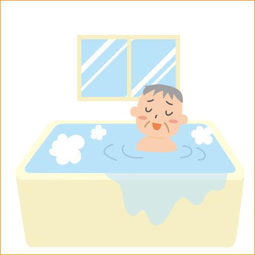 入浴でリラックスする